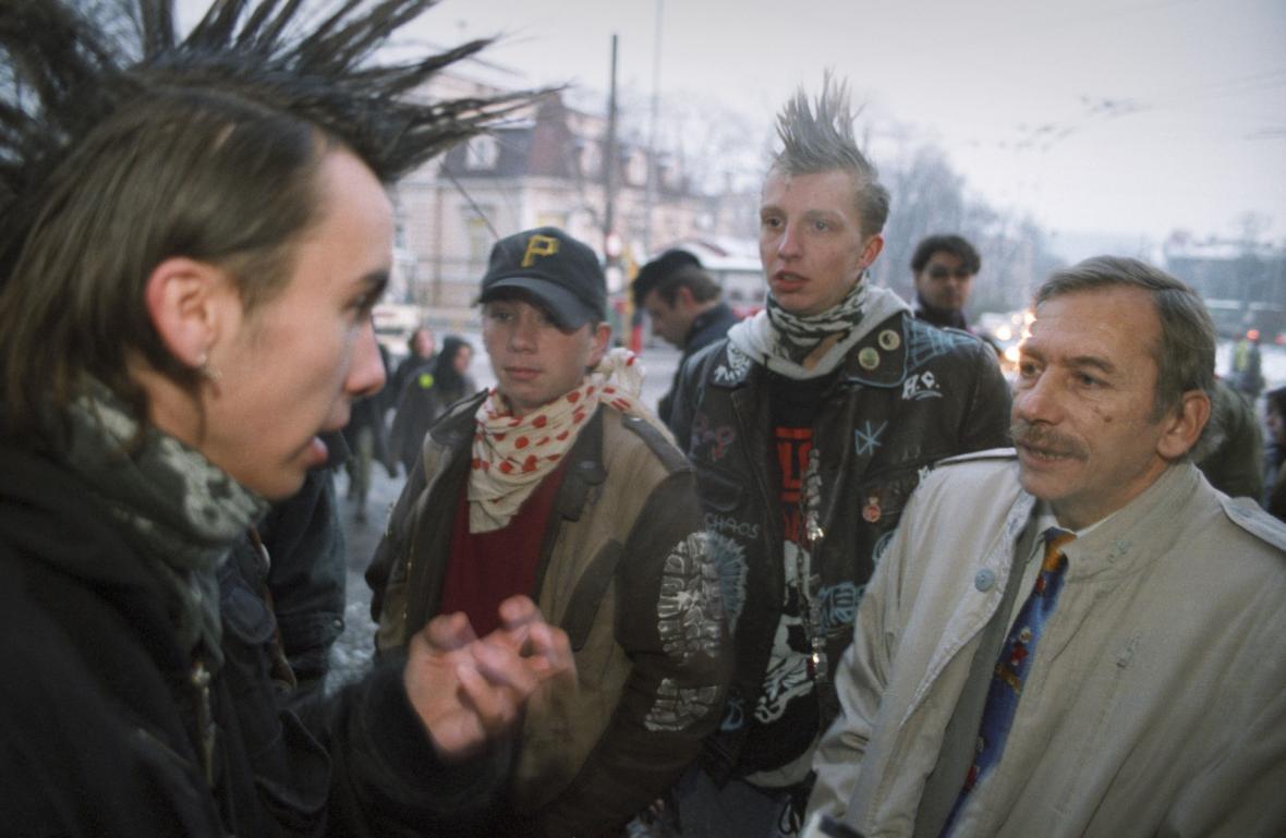 Rok 1996: Jaroslav Kubera a anarchisté