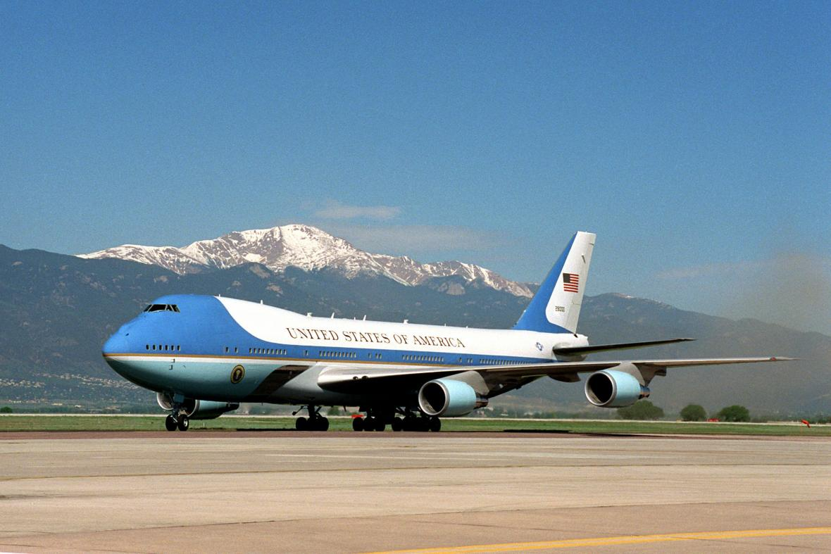 Prezidentský Jumbo Jet Air Force One