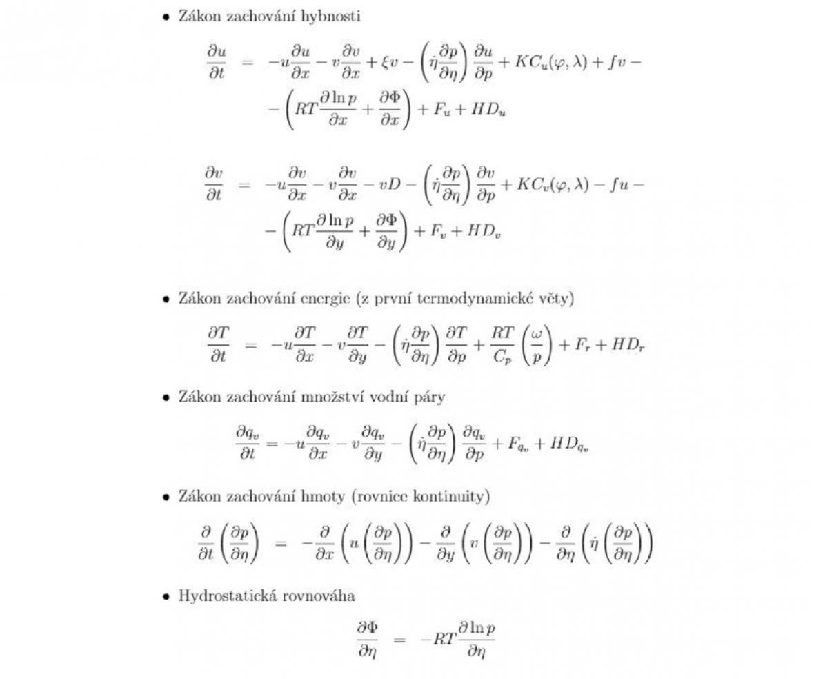 Meteorologická rovnice