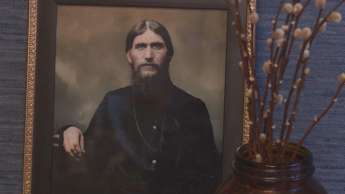 Rasputinův portrét
