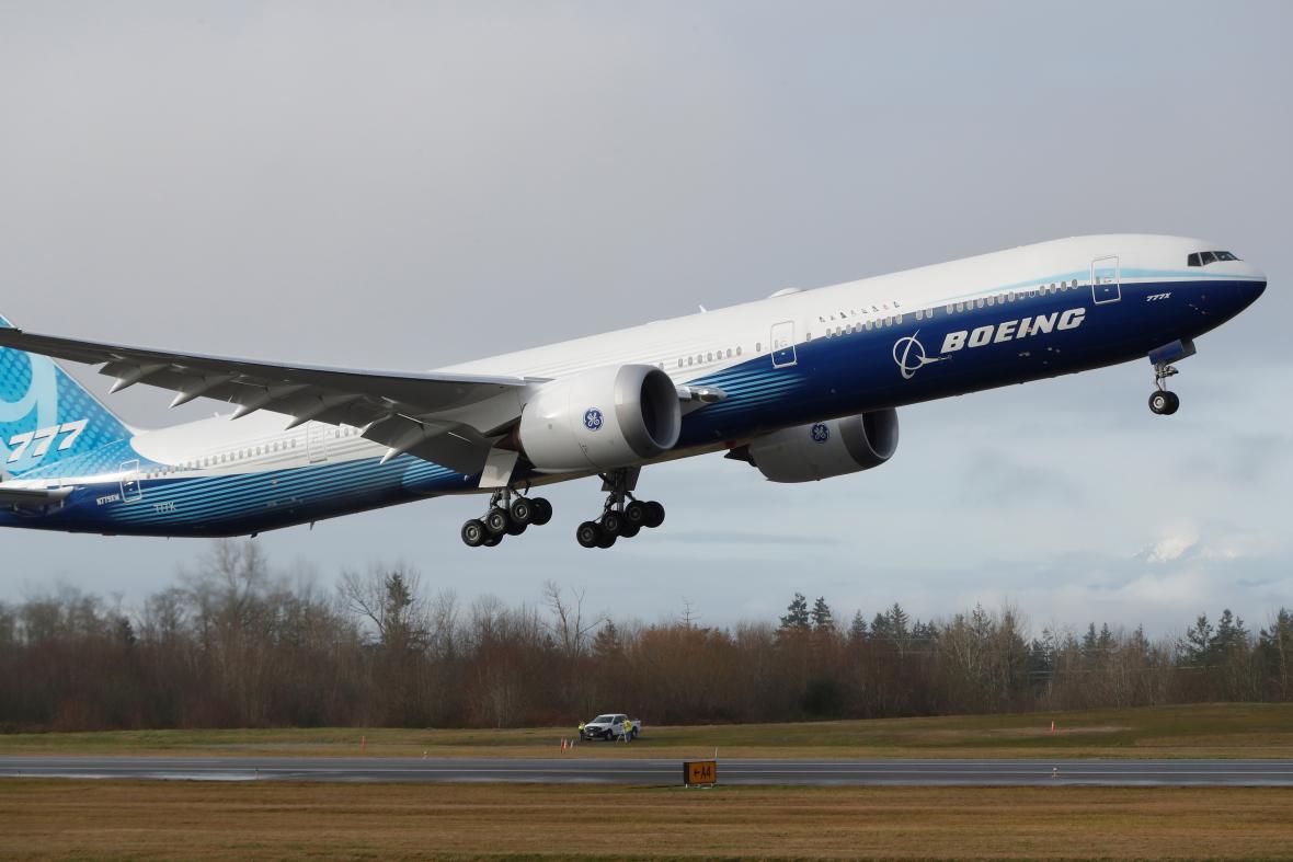 První let Boeingu 777X