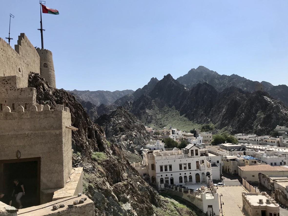 Pevnost Mutrah v Maskatu