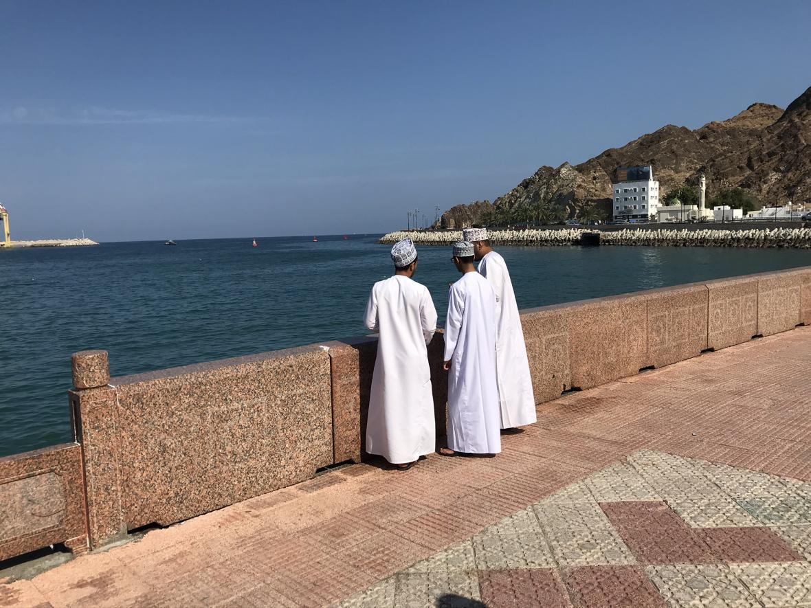 Tradiční oděv ománských mužů