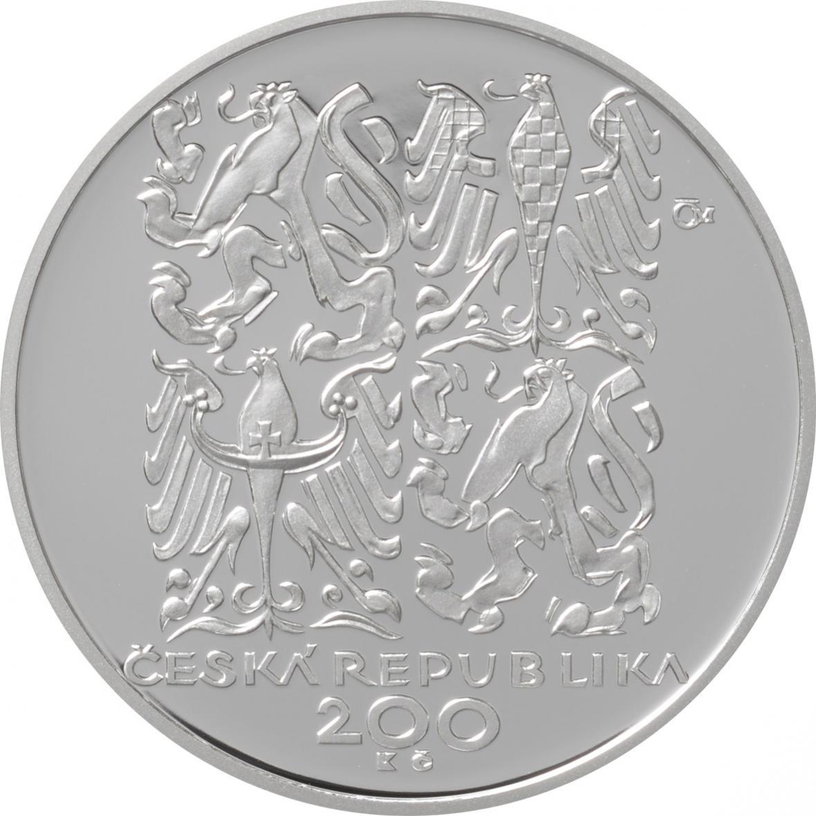 Stříbrná výroční mince