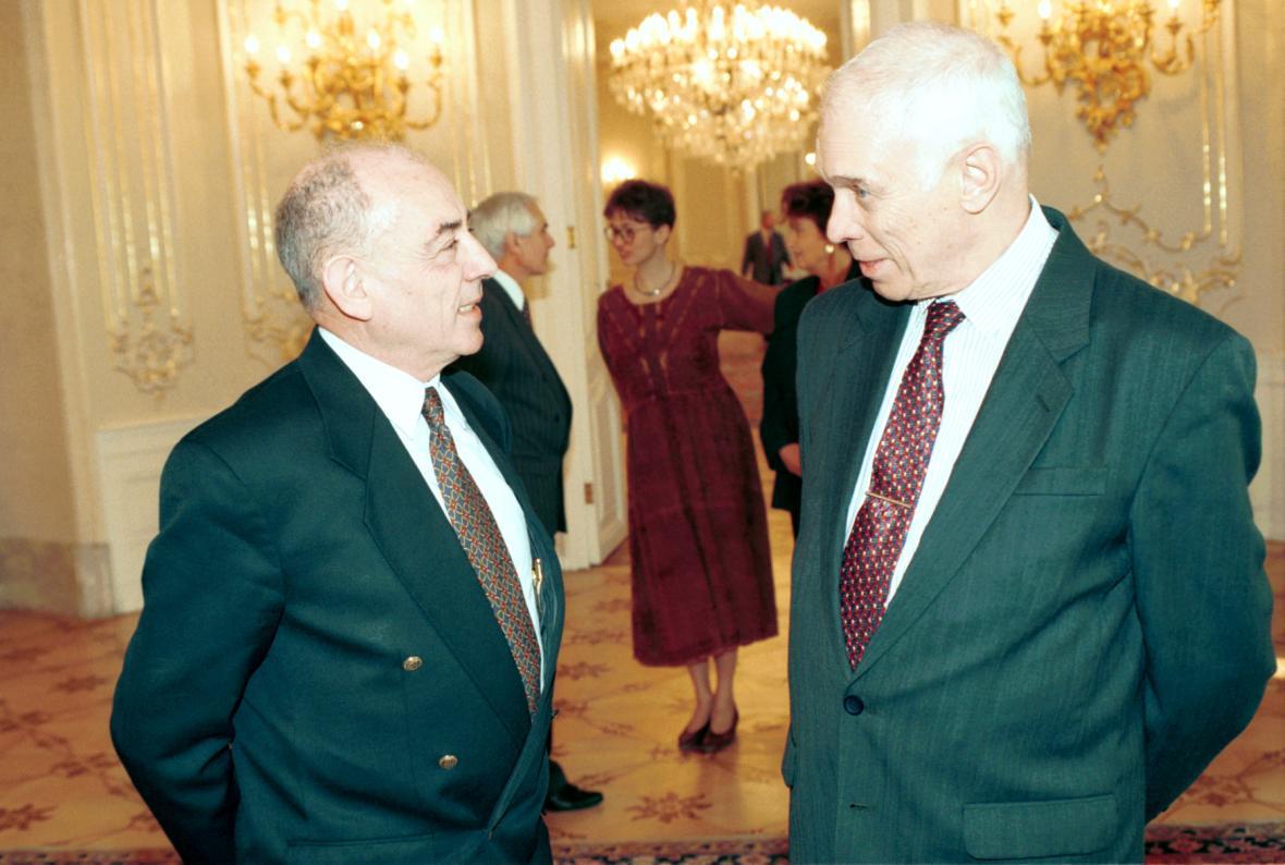 Luboš Dobrovský a Ivan Medek