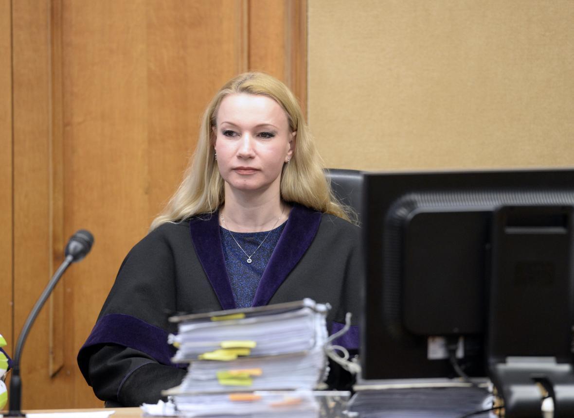 Soudkyně Iva Říhová