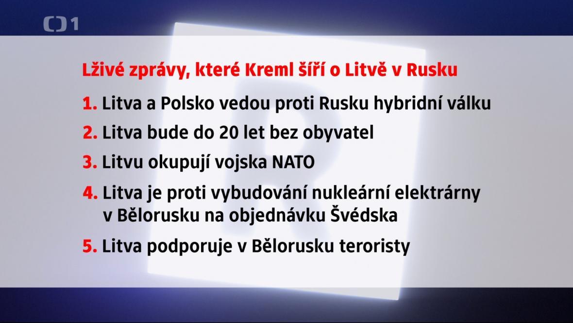 Lživé zprávy o Litvě