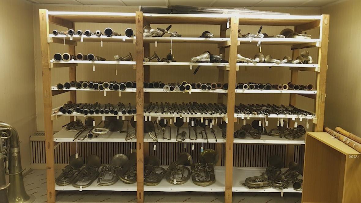 Sbírka nástrojů v Kraslicích