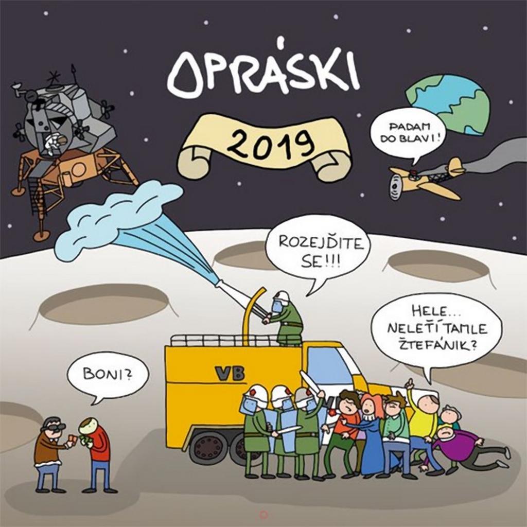 Kalendář Opráski sčeskí historje na rok 2019