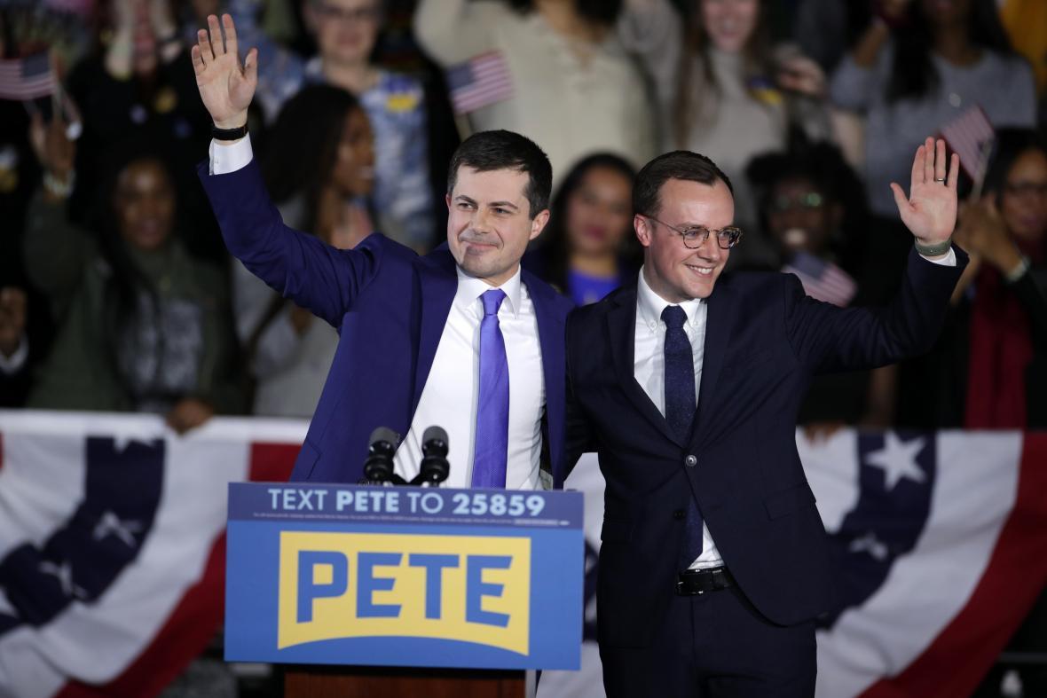 Pete Buttigieg s manželem