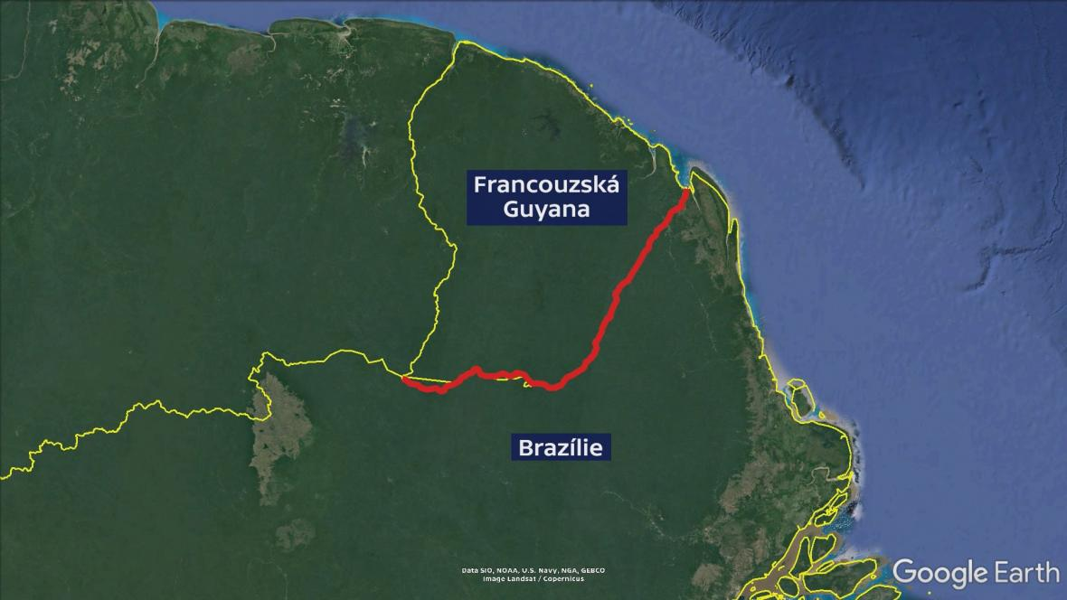 Mapa hranic