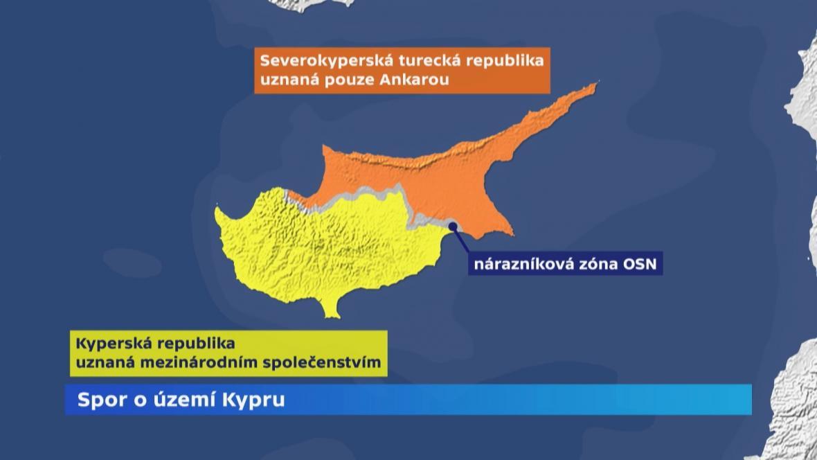 Spor o území Kypru