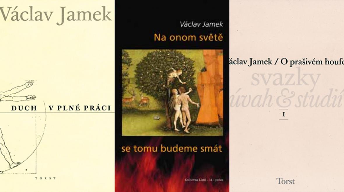 Knihy Václava Jamka