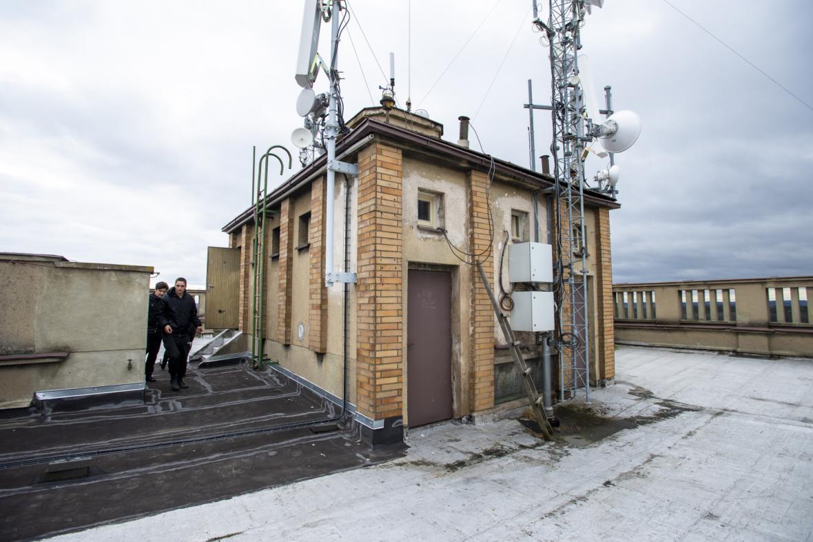Návštěvníci se mohou podívat i na střechu