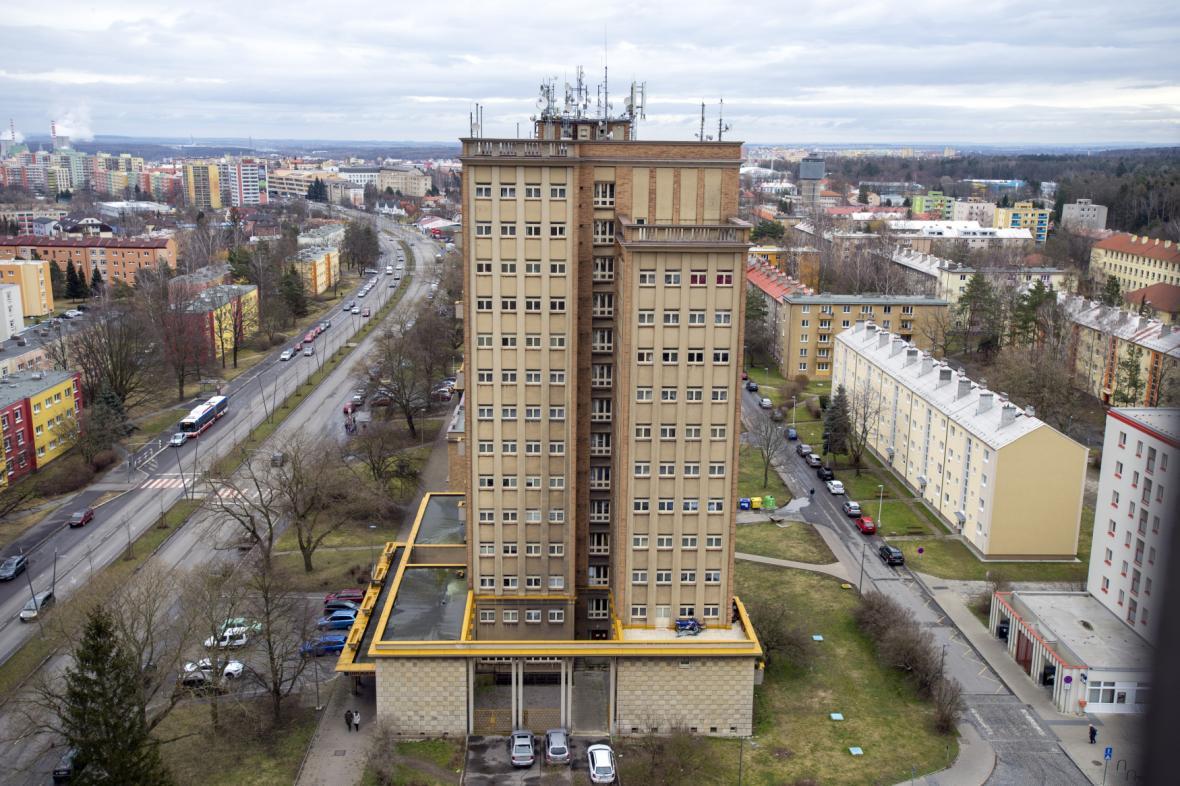 Věžové domy patří mezi kladenské dominanty