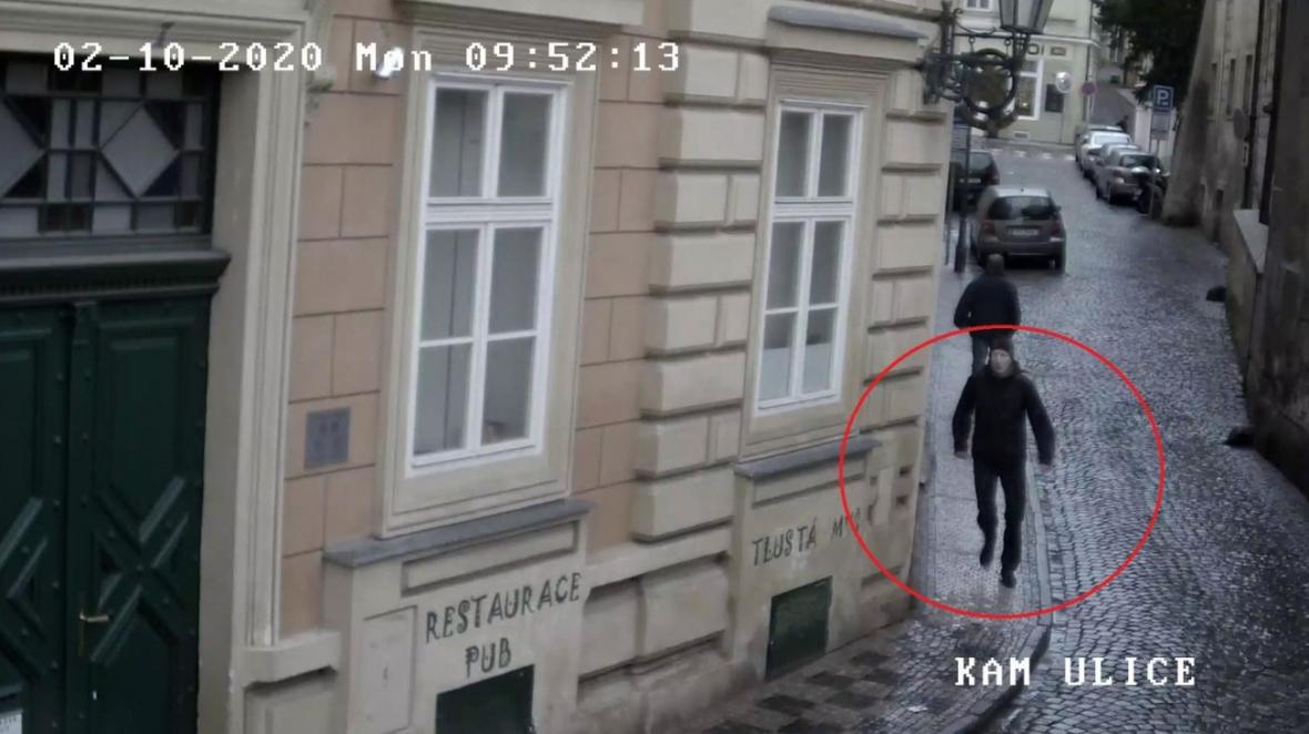 Muž, po kterém policisté pátrají jako po svědkovi