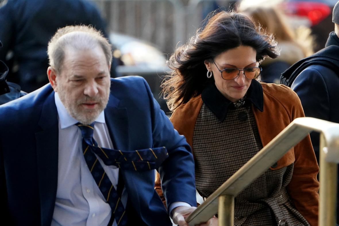 Harvey Weinstein s právničkou Donnou Rotunnovou