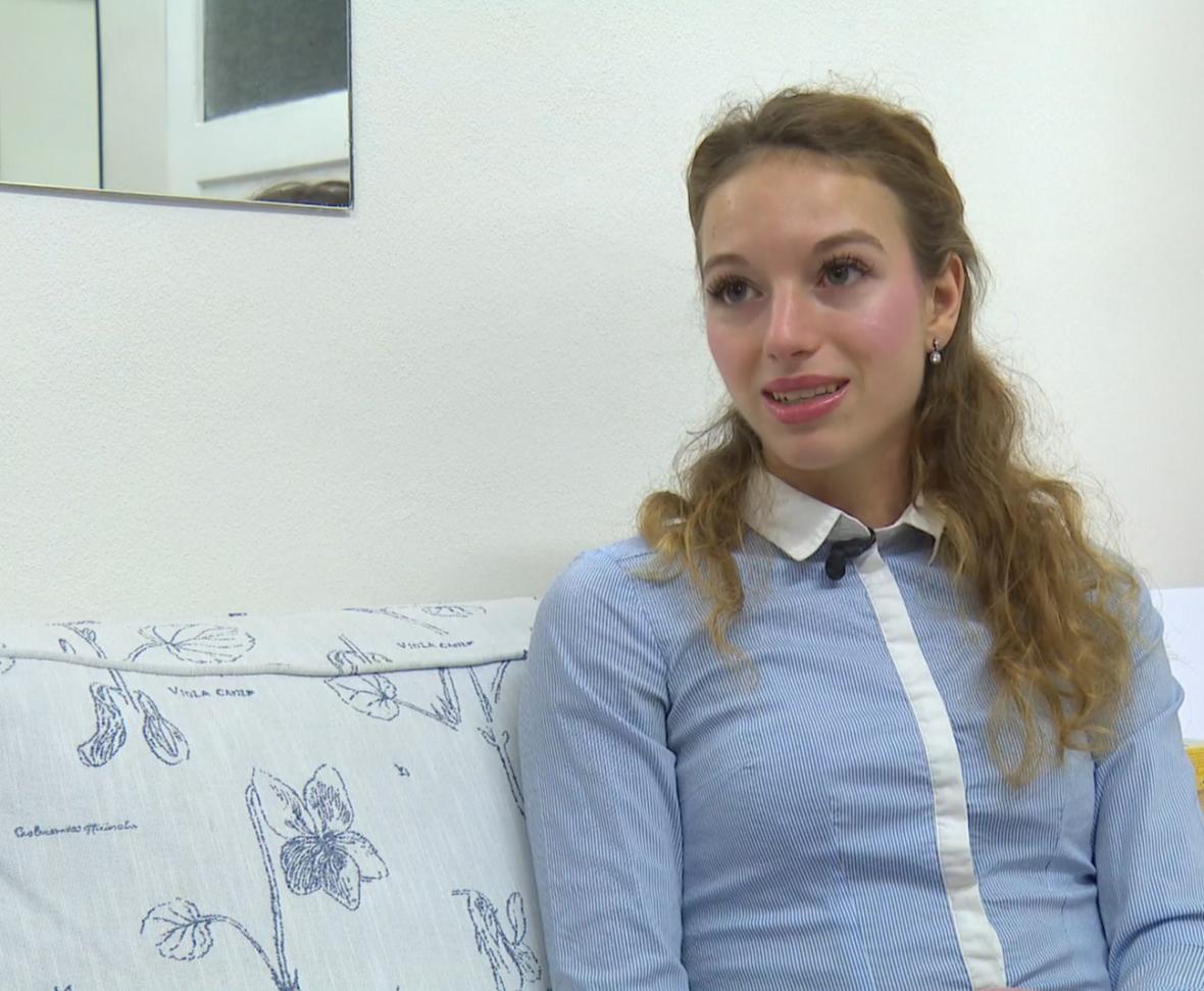 Monika Ludlová v pořadu 168 hodin
