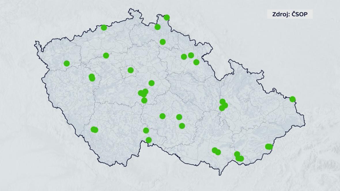 Ochránců přírody se podařilo vykoupit už 150 hektarů půdy na různých místech