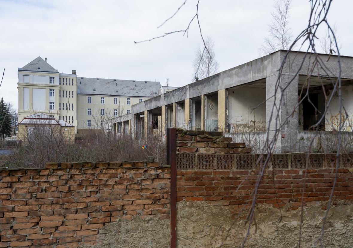 Biskupské gymnázium Krupka po opravě