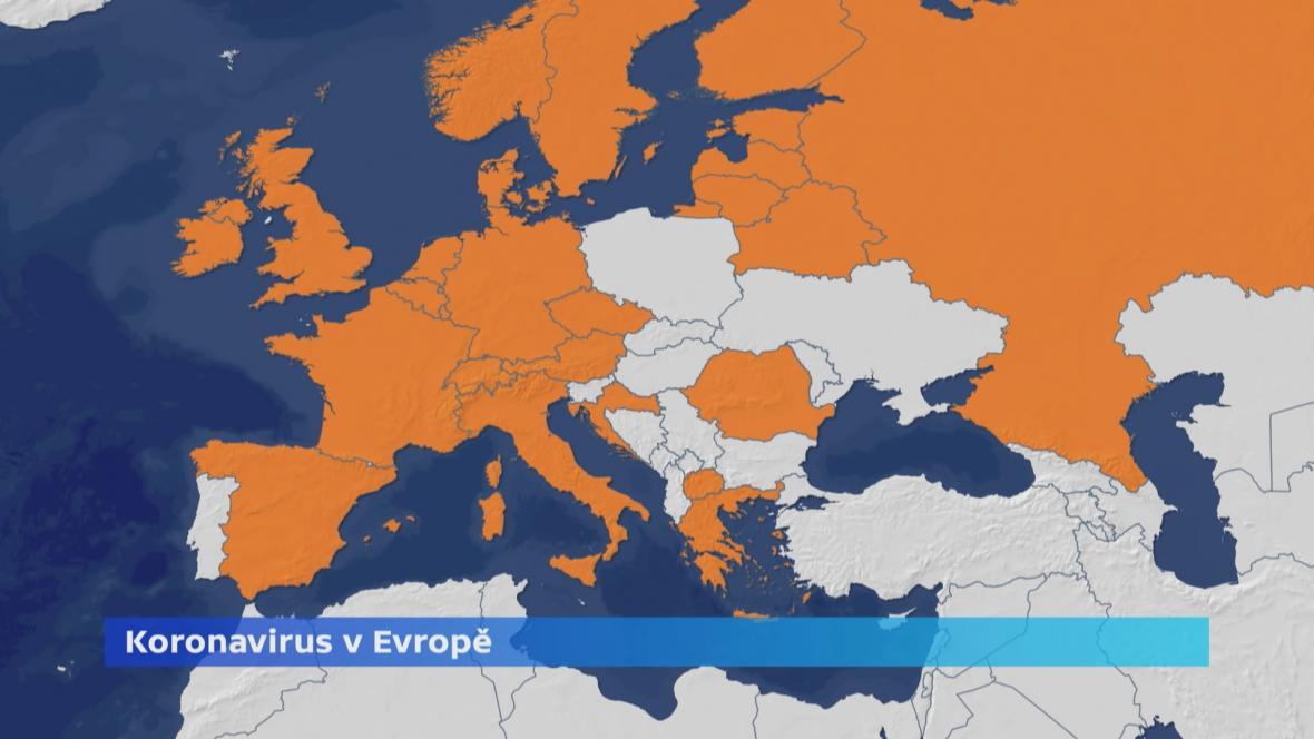 Koronavirus v Evropě