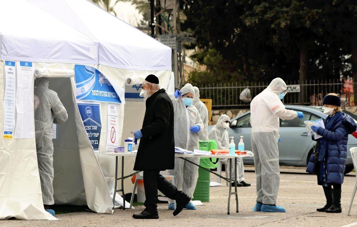 Speciální volební stany v Izraeli