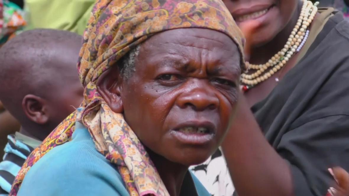 Pygmejové v Ugandě