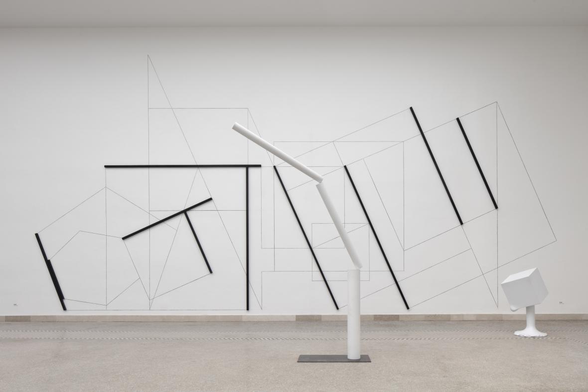 Instalace Stanislava Kolíbala Bývalé nejisté tušené na benátském bienále