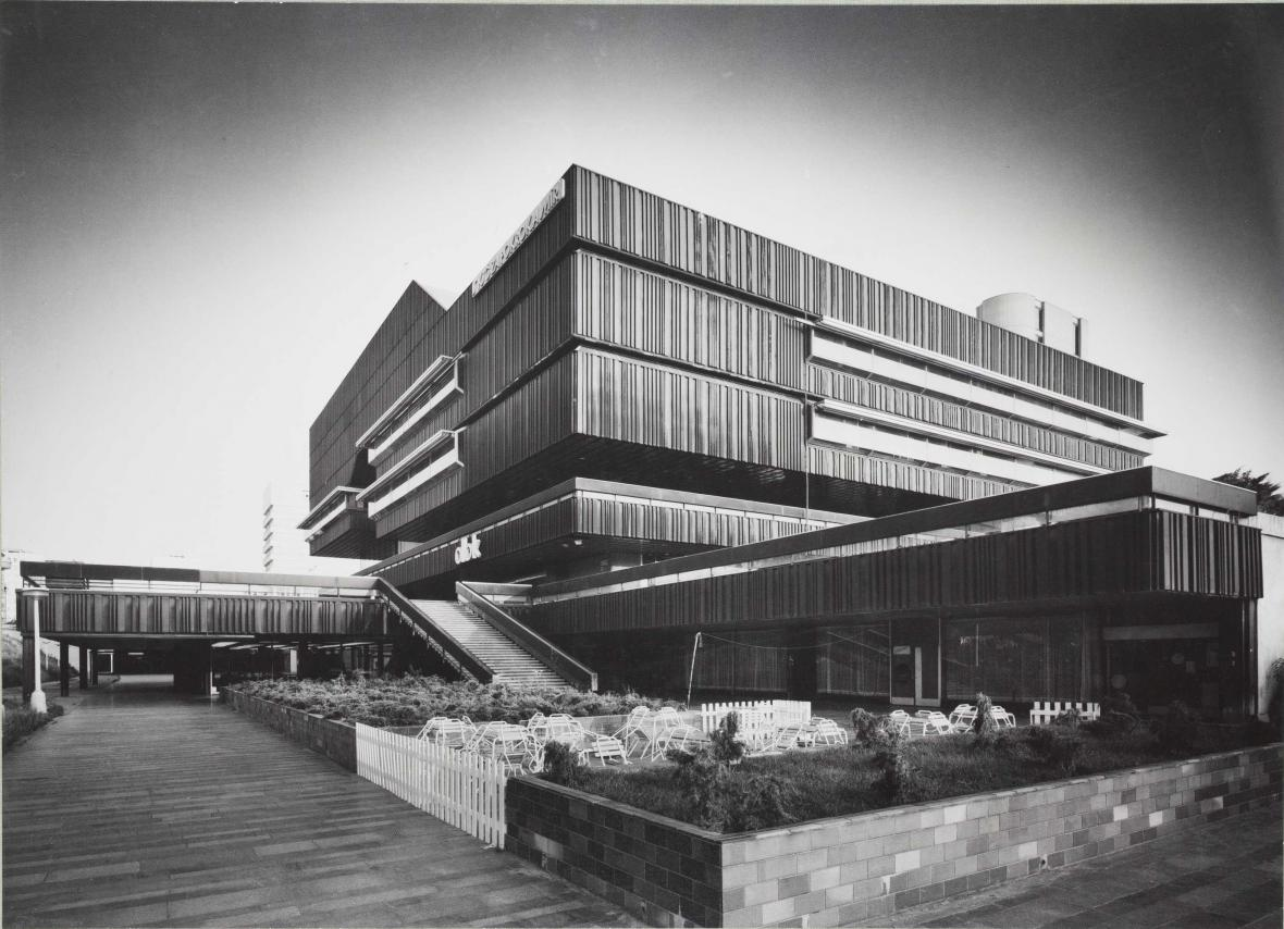 Dům bytové kultury (1971‒1981, architekti: Věra Machoninová, Vladimír Machonin)