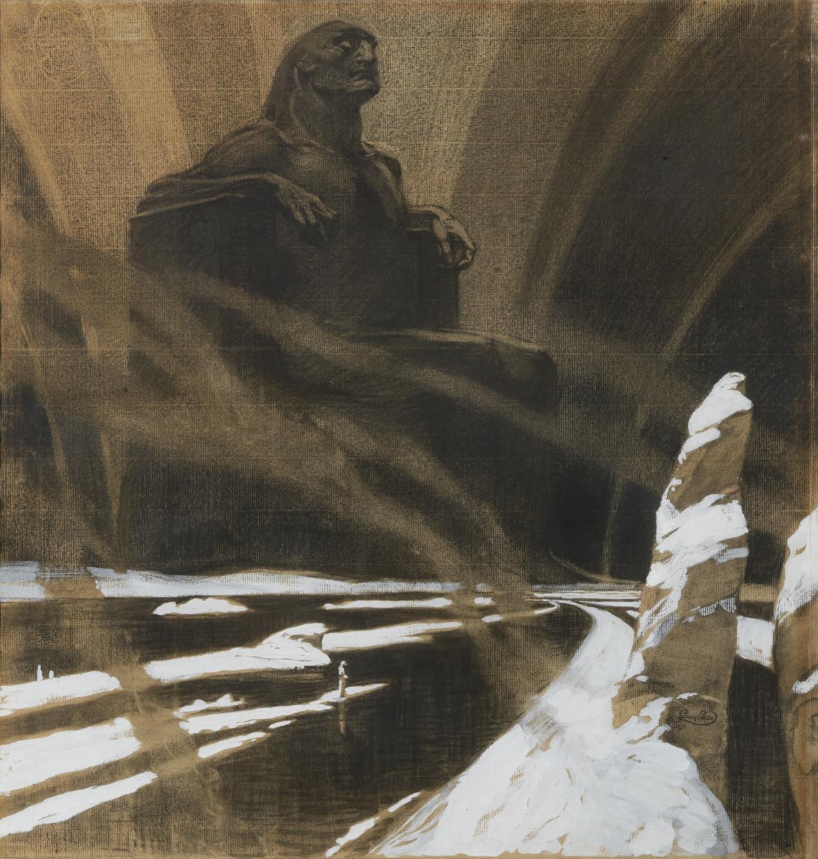 František Kupka / Černý idol, 1901