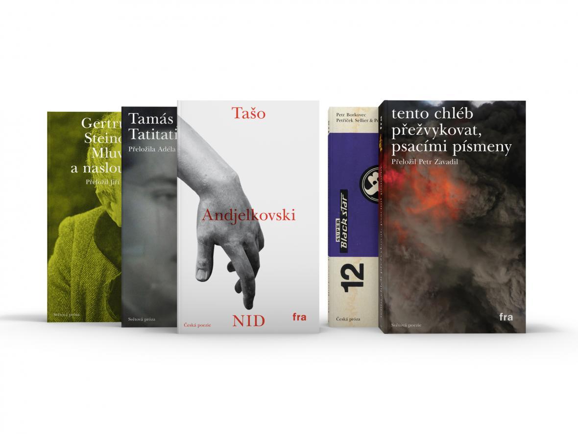 Michal Rydval / vizuální styl publikací pro Éditions Fra 2019