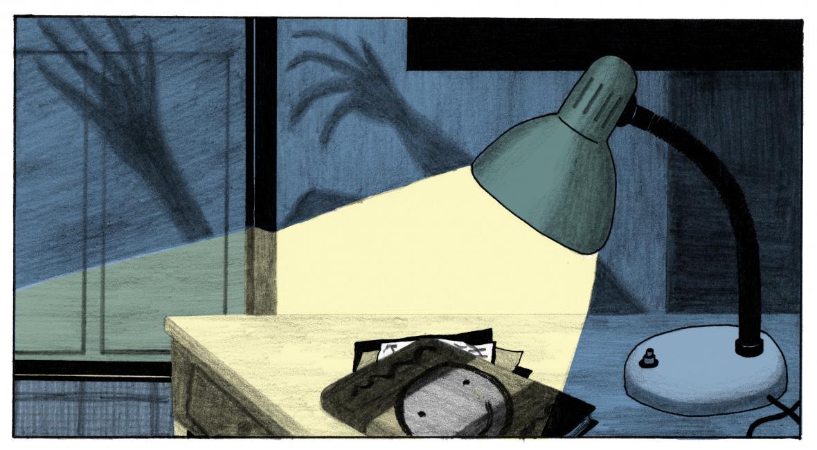 Nikola Logosová / ilustrace pro knihu Klub divných dětí