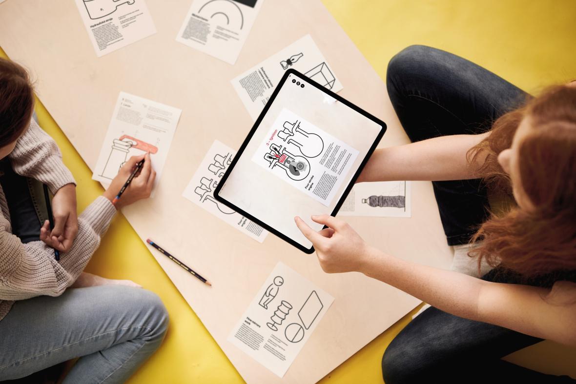 Vítek Škop / interaktivní učebnice Vividbooks