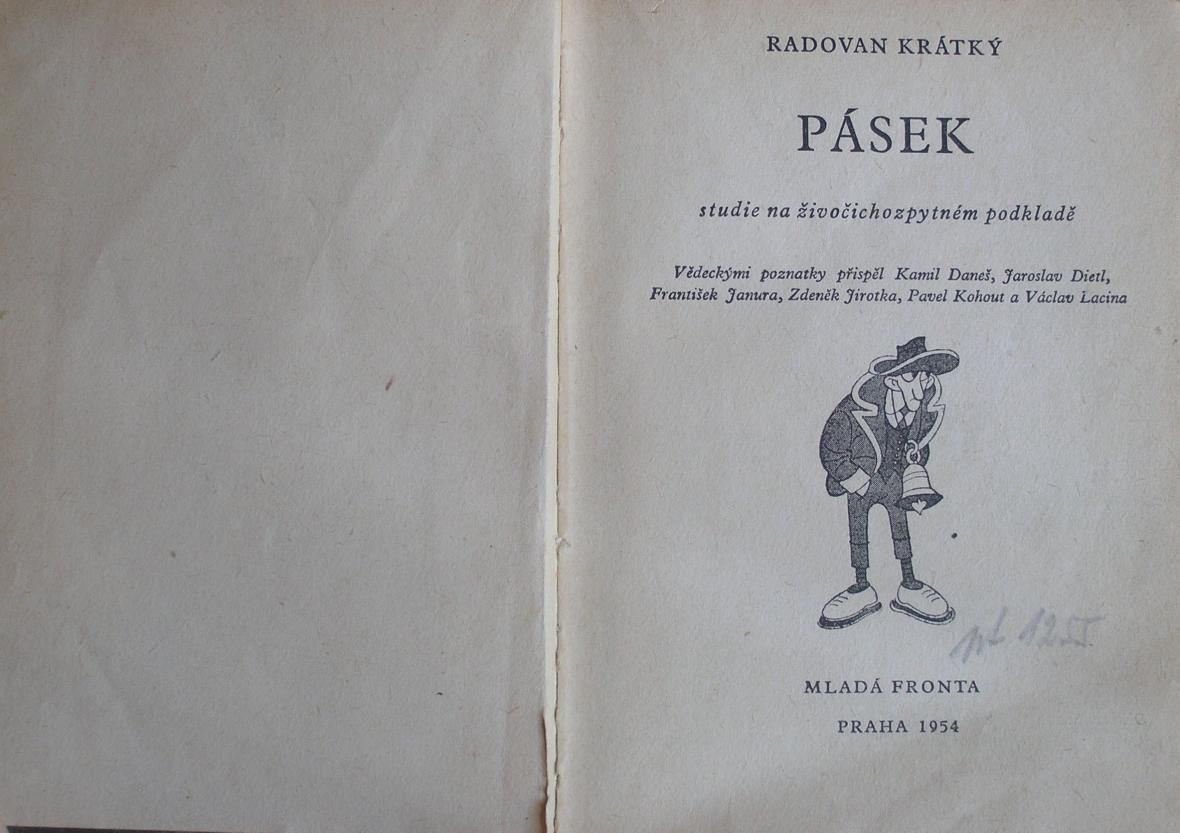 Ukázka z knihy Pásek