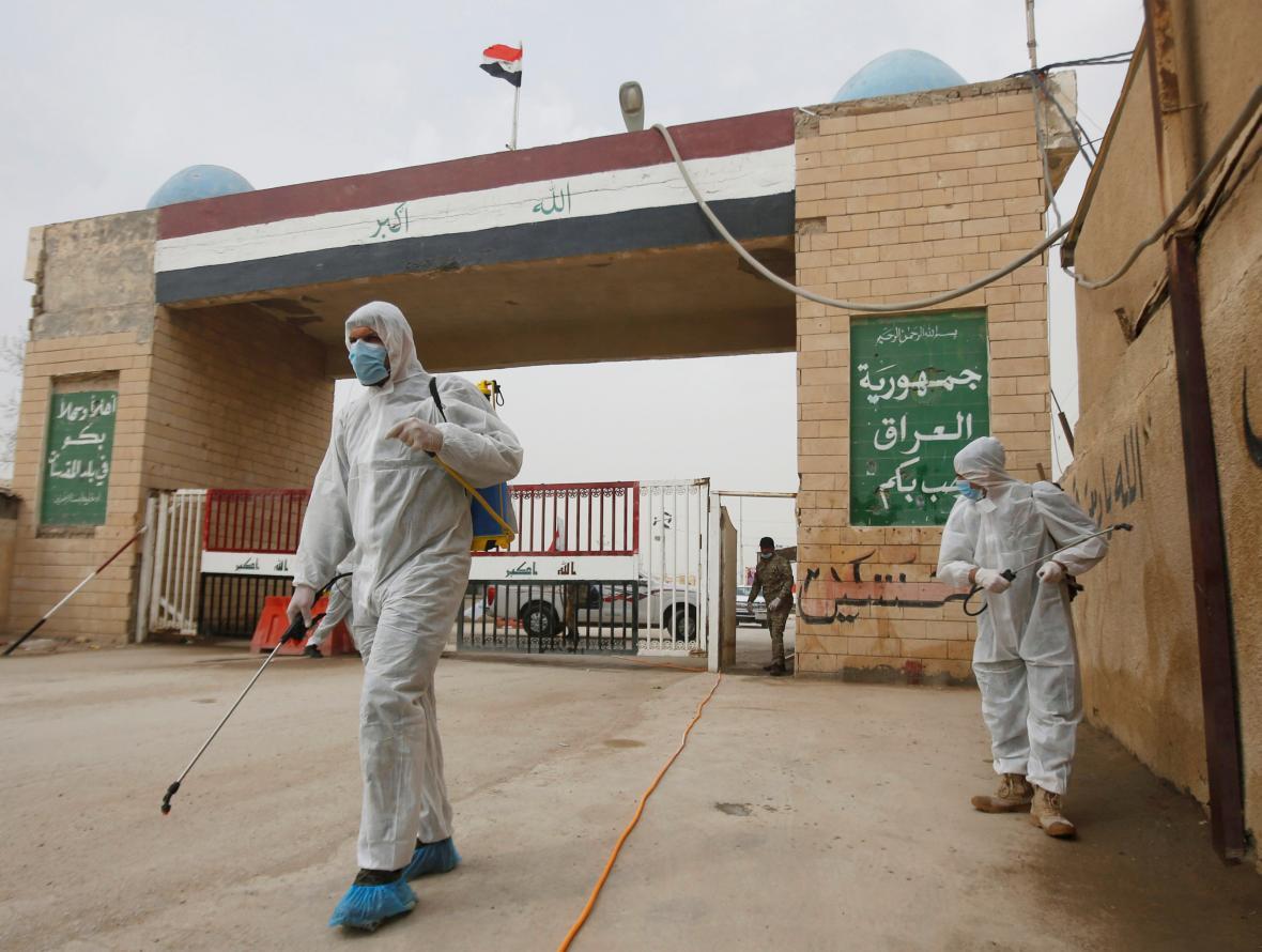 Prevence proti šíření koronaviru v Íránu