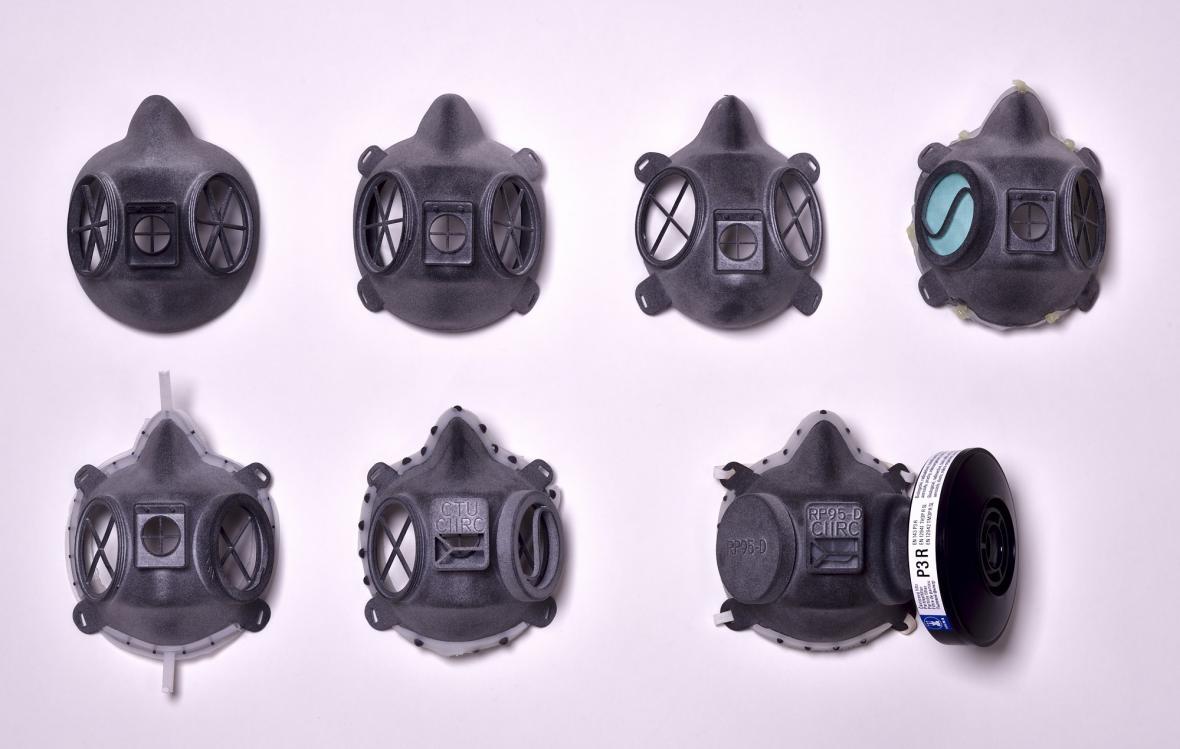 Vývoj respirátoru CIIRC RP95-3D