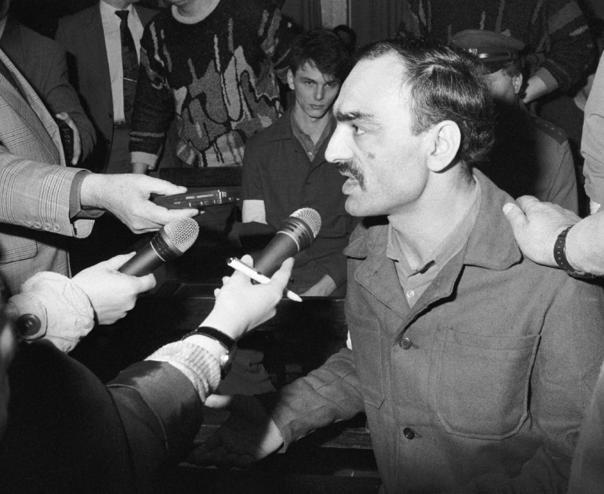Vůdce vzpoury Polgári u soudu