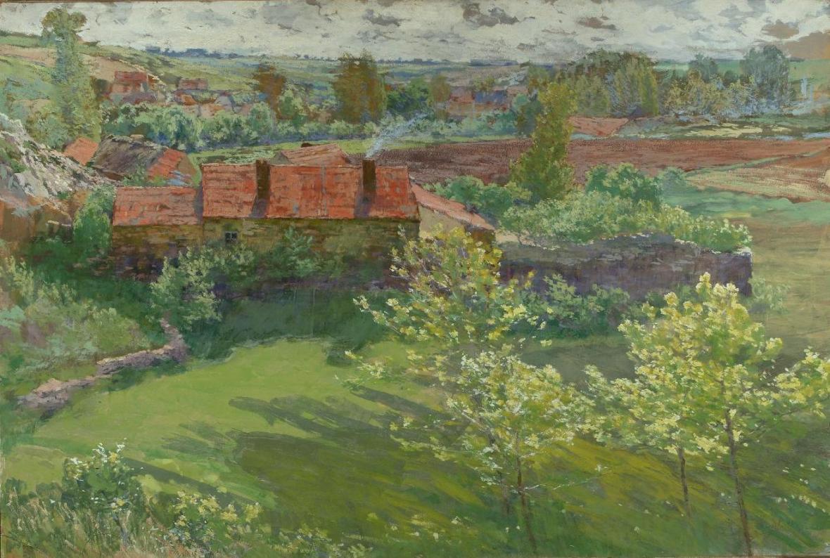 Antonín Slavíček / Červnový den, 1898–1899