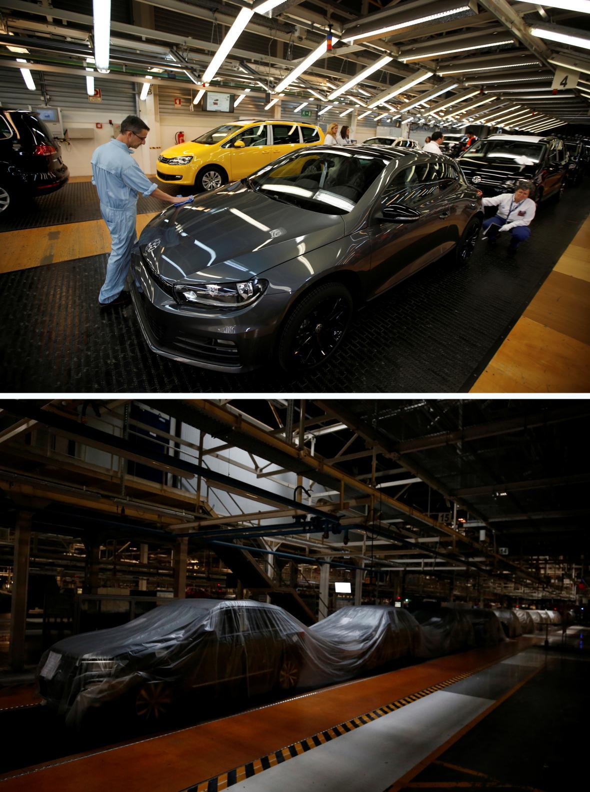 Kvůli pandemii dočasně pozastavil výrobu Volkswagen
