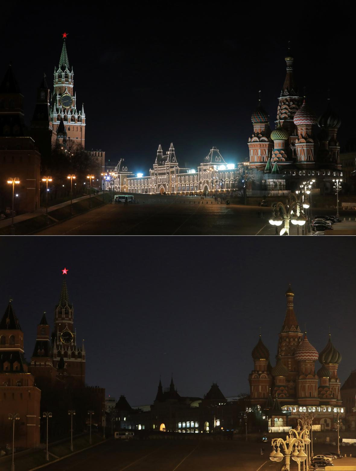 Moskva poslední dobou lehce potemněla