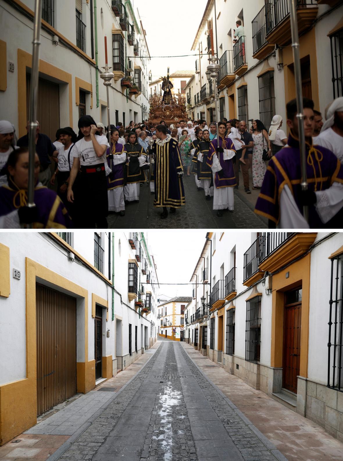 Sváteční průvody ve Španělsku jsou nyní zakázané