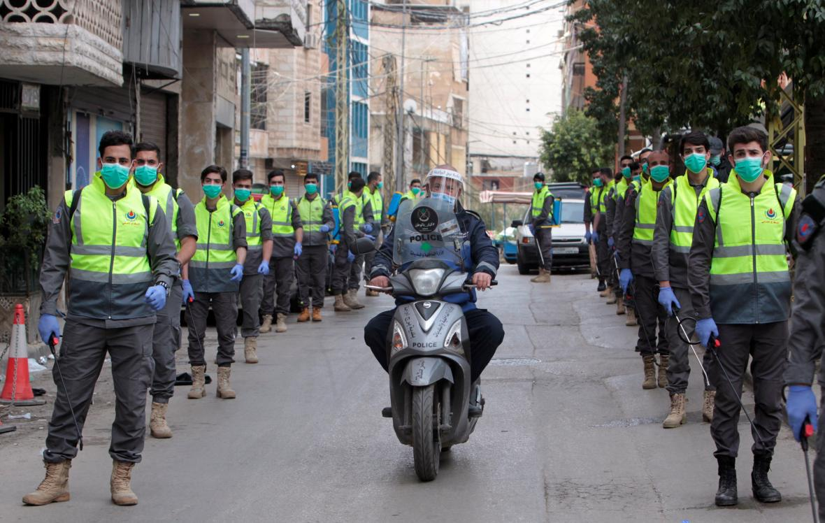 Do boje s koronavirem se zapojilo i hnutí Hizballáh