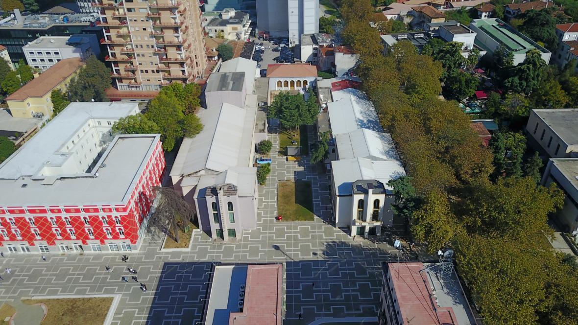Národní albánské divadlo v Tiraně