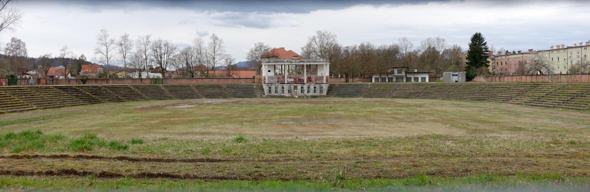 Plečnikův stadion v Lublani