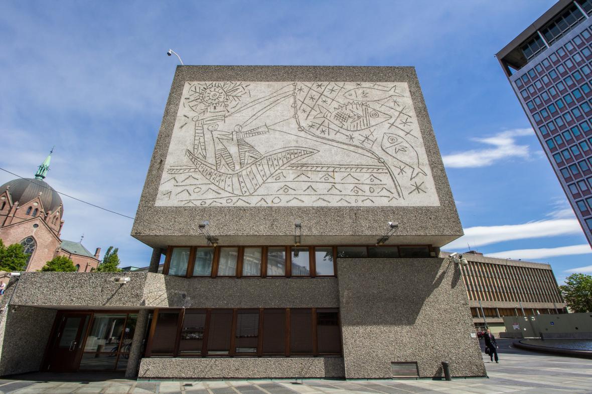 Vládní budova v Oslu