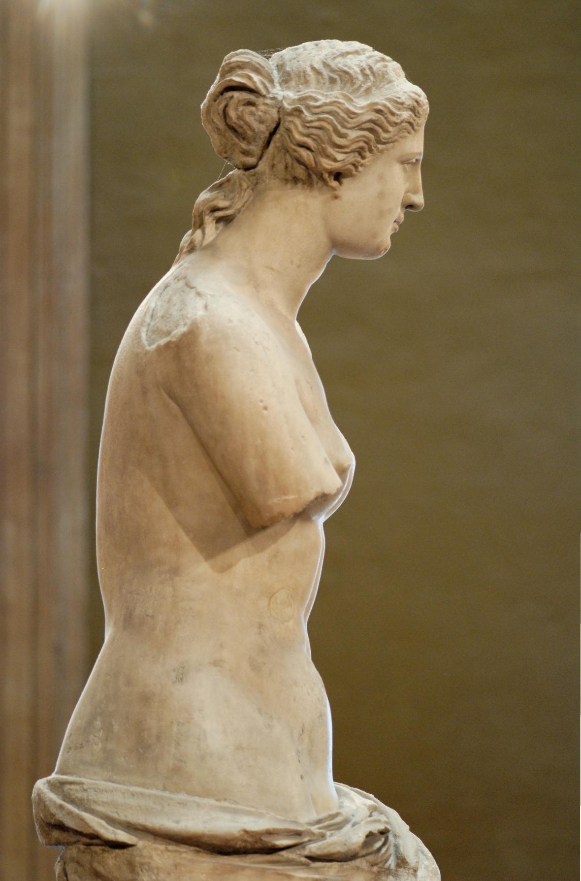 Venuše Mélská z profilu