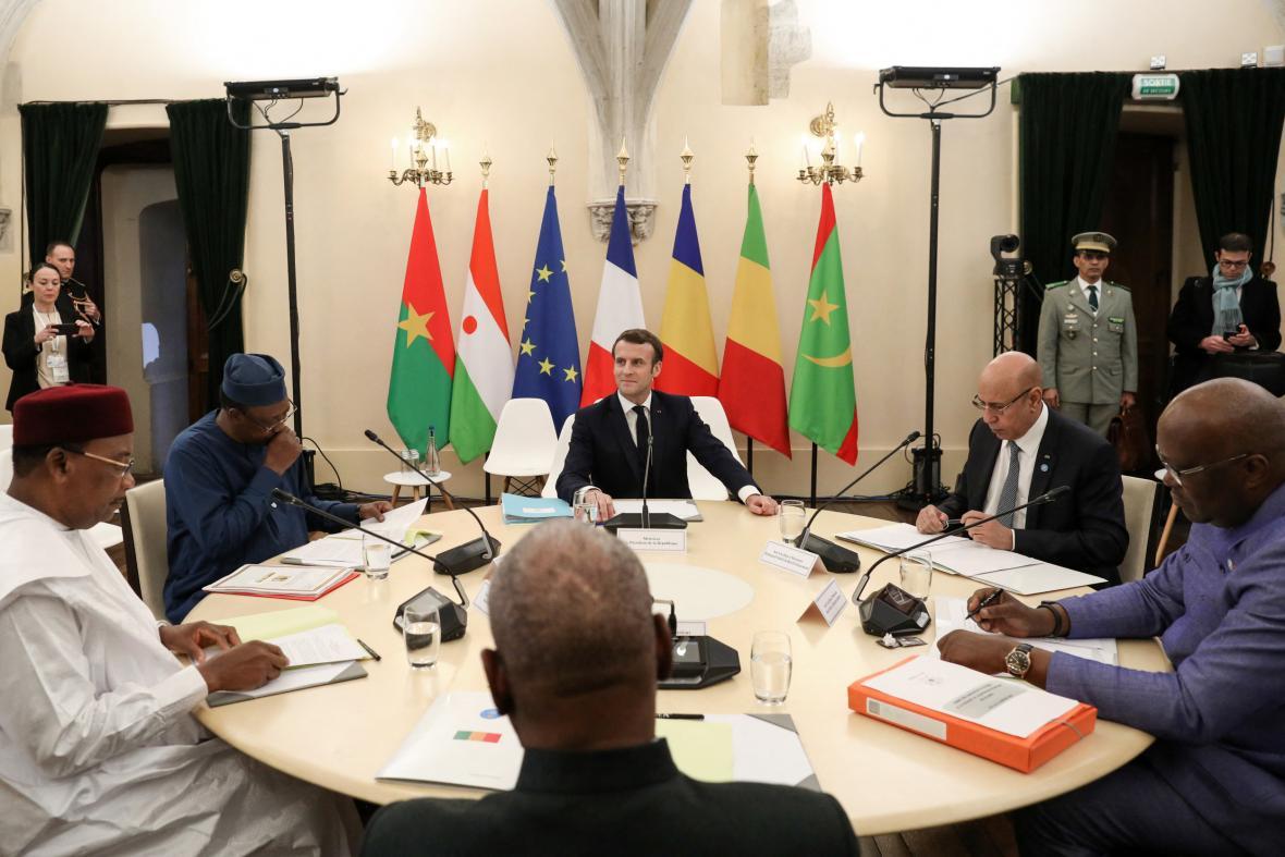 Lednový summit Francie a zemí Sahelu