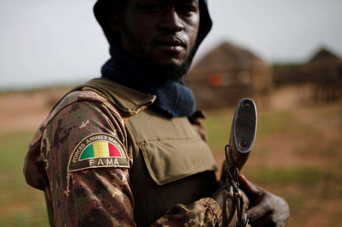 Člen malijských ozbrojených sil