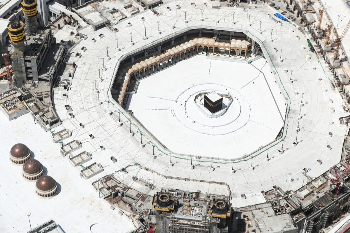 Vylidněná Mekka