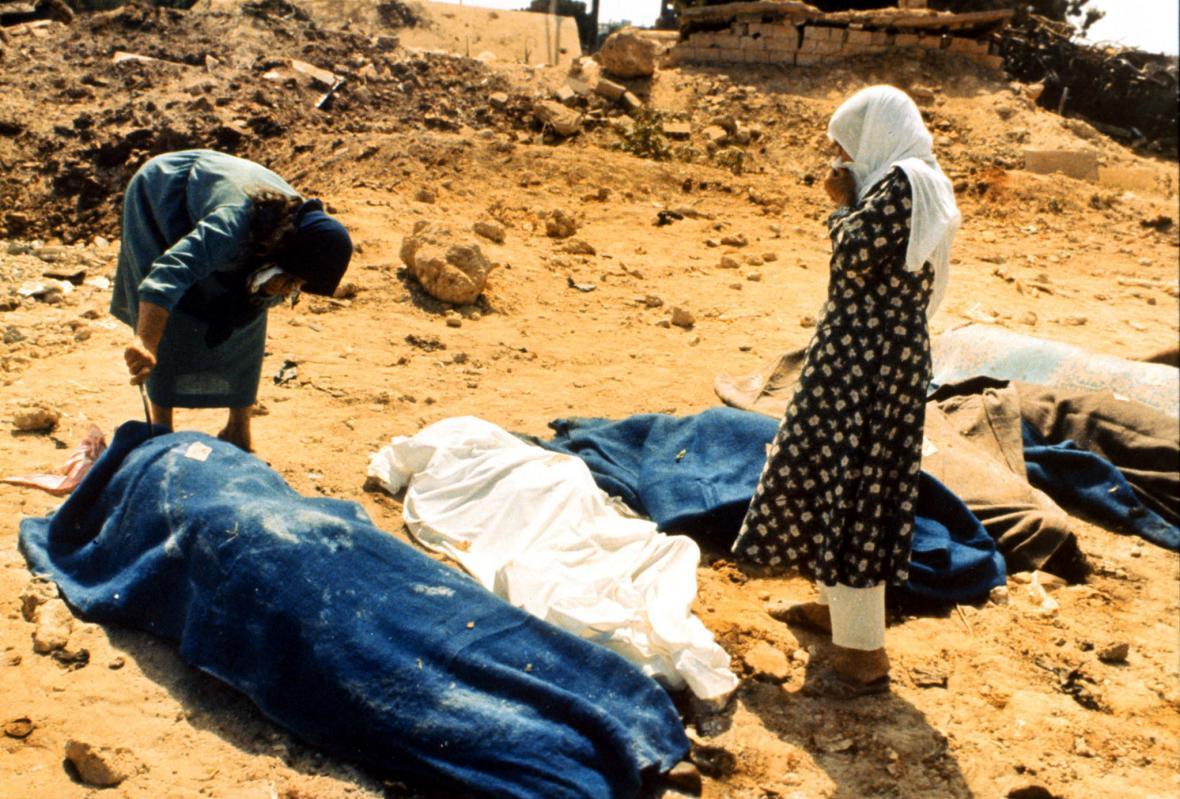 Masakr palestinských uprchlíků v Sabře a Šatíle v roce 1982